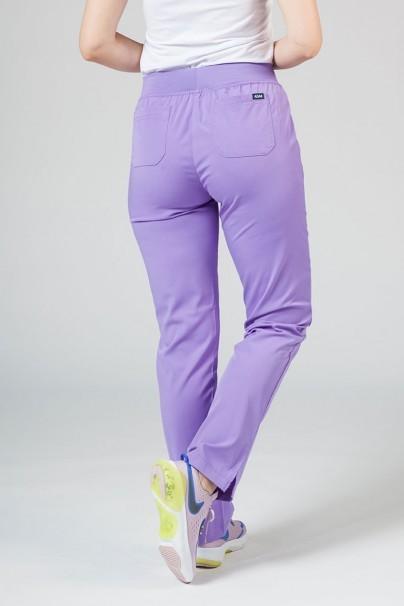 kalhoty-1-1 Dámské kalhoty Adar Uniforms Leg Yoga levandulové