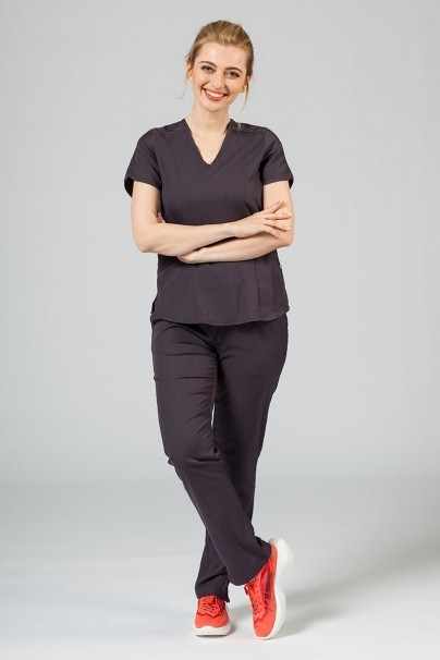 soupravy Lékařská souprava Adar Uniforms Yoga grafitová (s halenou Modern - elastic)