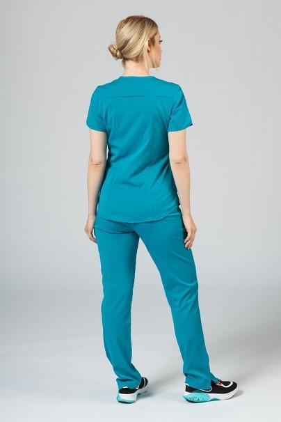 soupravy Lékařská souprava Adar Uniforms Yoga mořsky modrá (s halenou Modern - elastic)