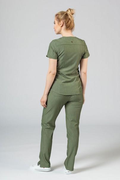 soupravy Lékařská souprava Adar Uniforms Yoga olivková (s halenou Modern - elastic)