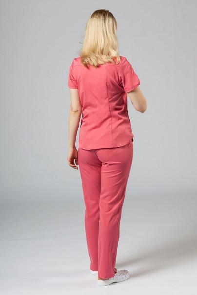 soupravy Lékařská souprava Adar Uniforms Yoga růžová (s halenou Modern - elastic)