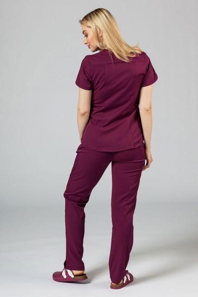 soupravy Zdravotnická souprava Adar Uniforms Yoga třešňová (s halenou Modern - elastic)