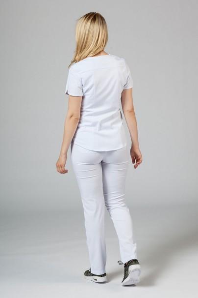 soupravy Lékařská souprava Adar Uniforms Yoga bílá (s halenou Modern - elastic)