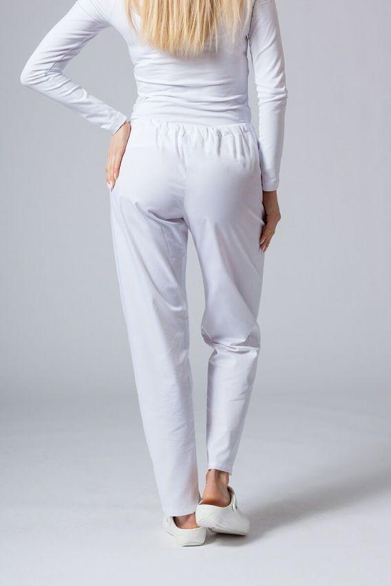 spodnie-medyczne-damskie Univerzální lékařské kalhoty Sunrise Uniforms bílé