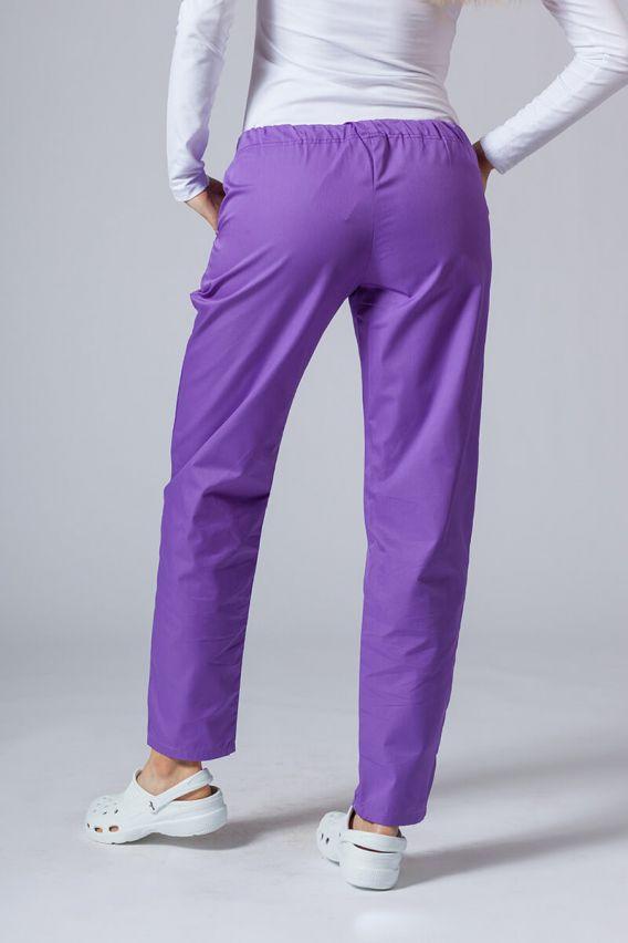 spodnie-medyczne-damskie Univerzální lékařské kalhoty Sunrise Uniforms fialové
