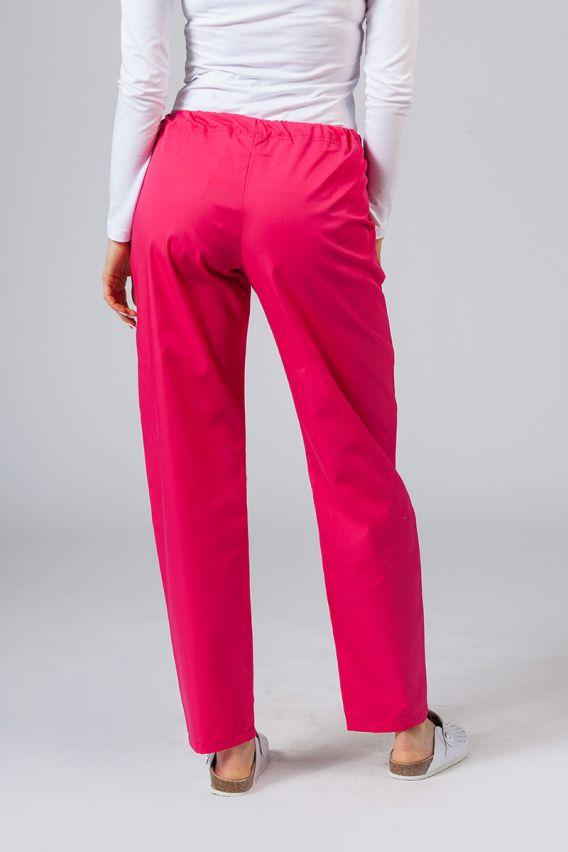 spodnie-medyczne-damskie Univerzální lékařské kalhoty Sunrise Uniforms malinové