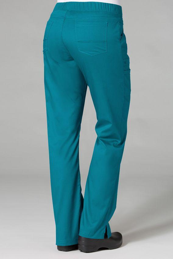 spodnie-medyczne-damskie Lékařské kalhoty Maevn PrimaFlex mořsky modré