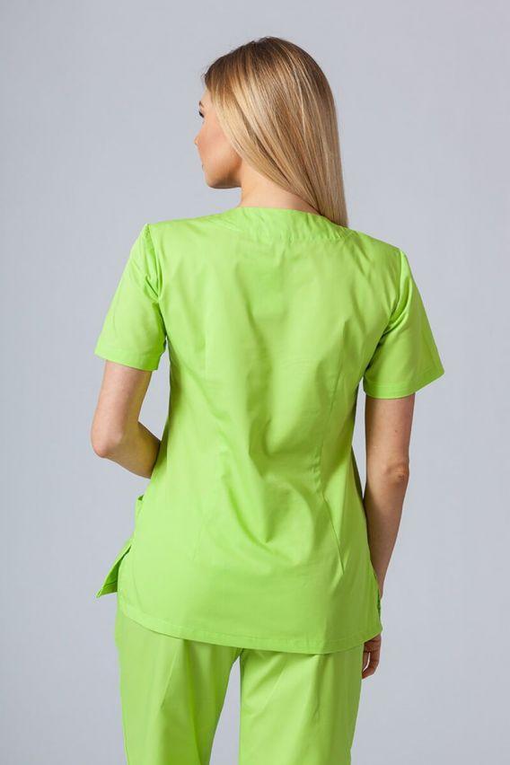bluzy-medyczne-damskie Lékařská halena Sunrise Uniforms limetková