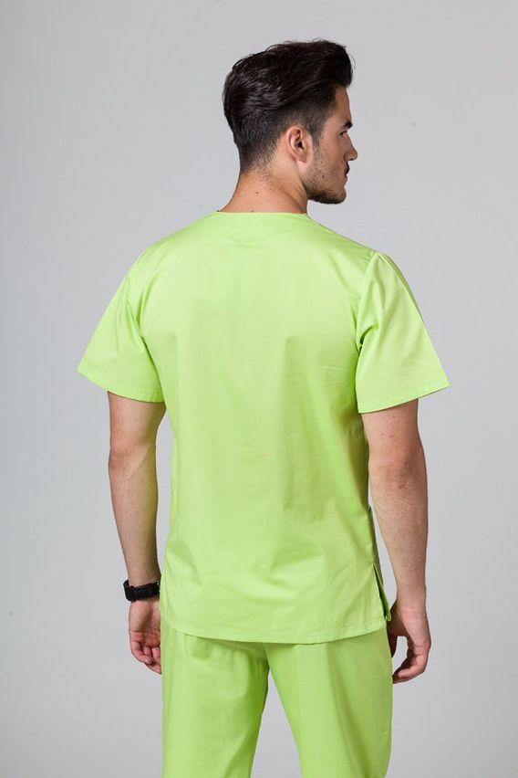 bluzy-medyczne-meskie Univerzální lékařská mikina Sunrise Uniforms limetková