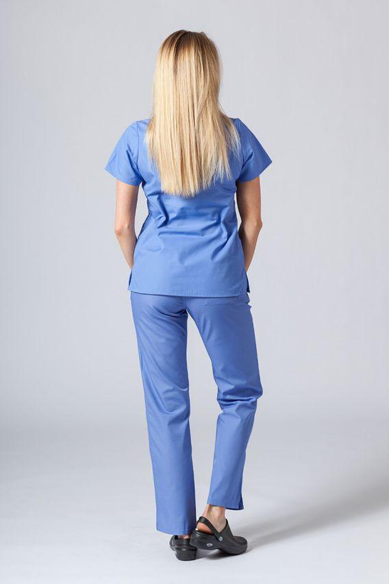 bluzy-medyczne-damskie Lékařská halena Maevn Red Panda klasicka modrá