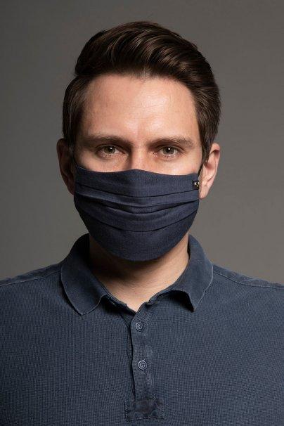 maski-ochronne Ochranná maska, dvouvrstvá (100% bavlna), unisex, tmavě modrá