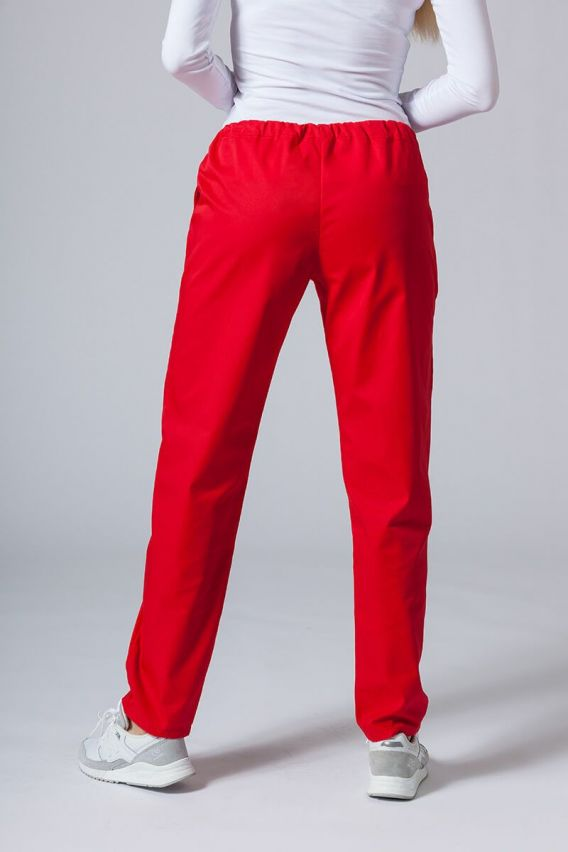 kalhoty-1-1 Univerzální lékařské kalhoty Sunrise Uniforms červené