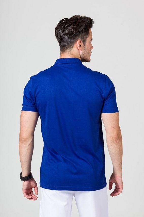 polo-meskie Pánské Polo tričko tmavě modré