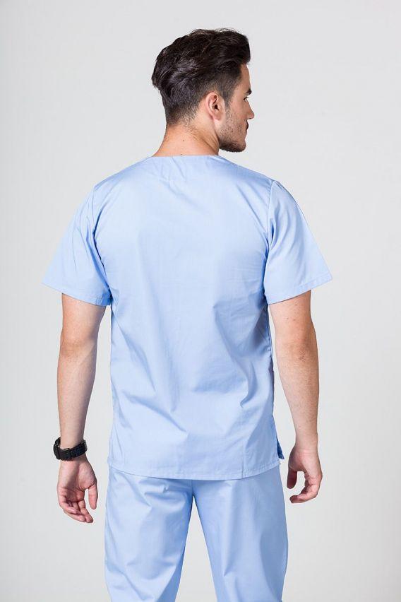 bluzy-1-1 Univerzální lékařská mikina Sunrise Uniforms modrá