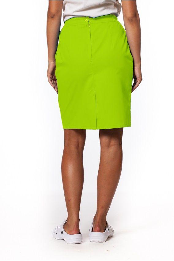 spodnice Sukně s kapsami Sunrise Uniforms limetková