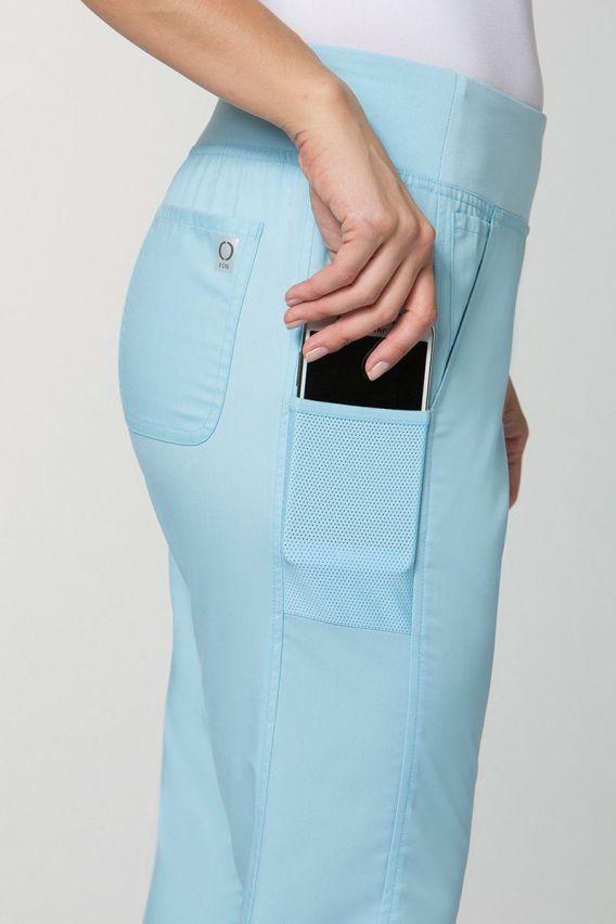 spodnie-medyczne-damskie Lékařské kalhoty Maevn EON Classic sky