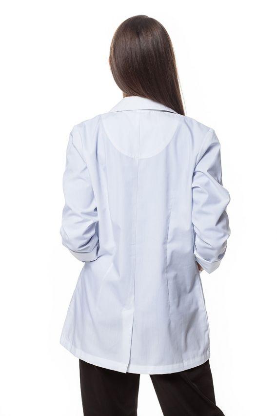 fartuchy-medyczne-damskie Dámský bílý zdravotnický plášť Maevn Red Panda (krátký)