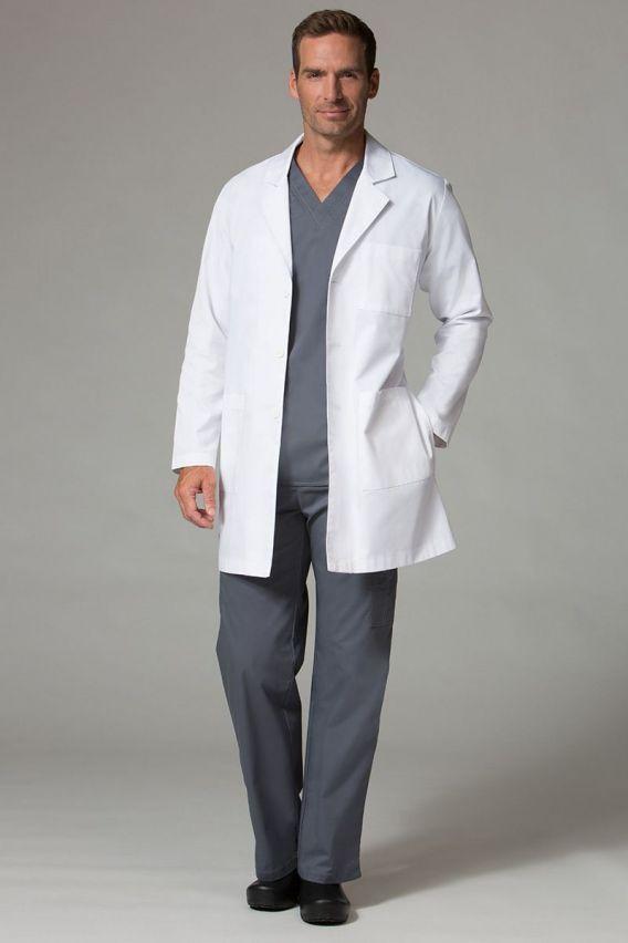 plaste-1-1 Univerzální lékařský plášť Maevn bílý