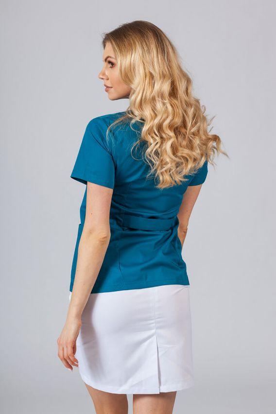 saka-1 Lékařské sako 01 Sunrise Uniforms karaibsky modré