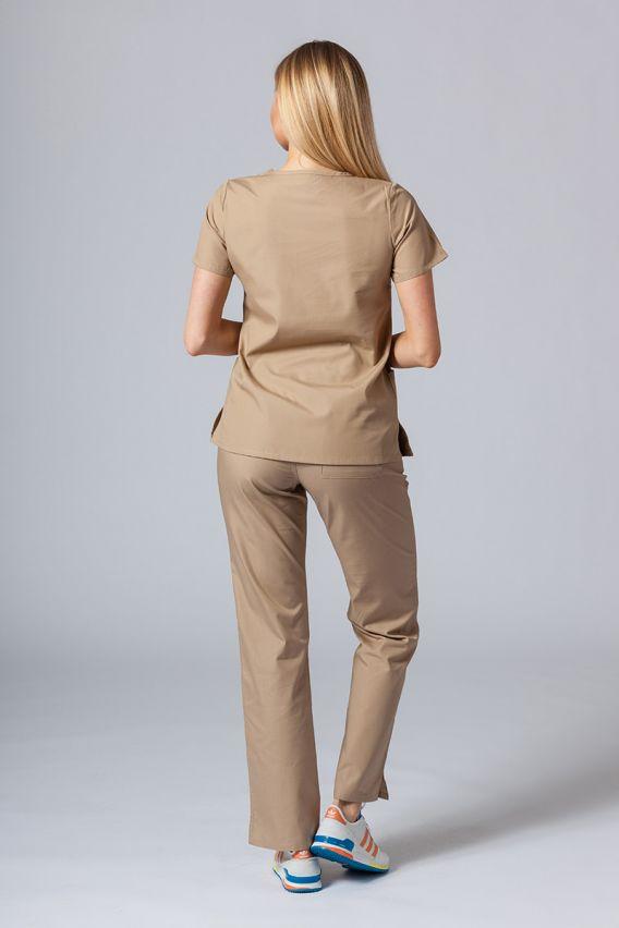 bluzy-medyczne-damskie Lékařská halena Maevn Red Panda