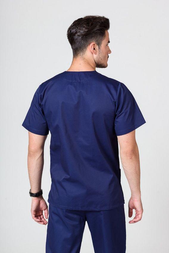 bluzy-medyczne-meskie Univerzální lékařská mikina Sunrise Uniforms námořnická modř