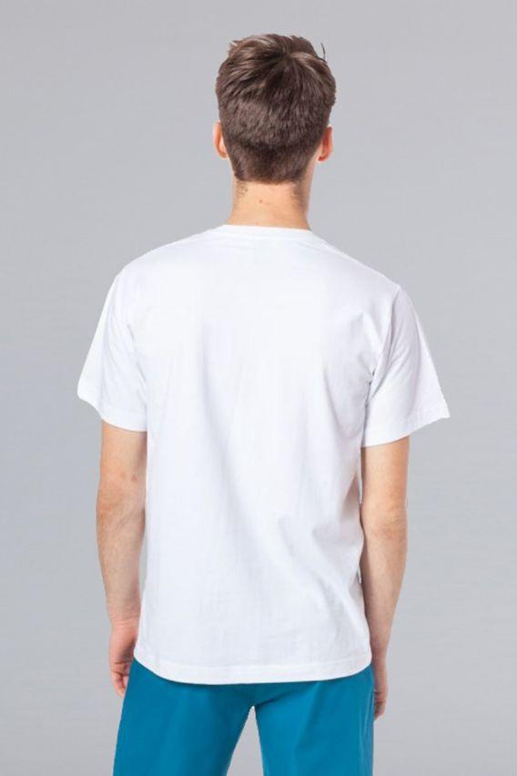 s-kratkym-rukavem Pánské triko bílé