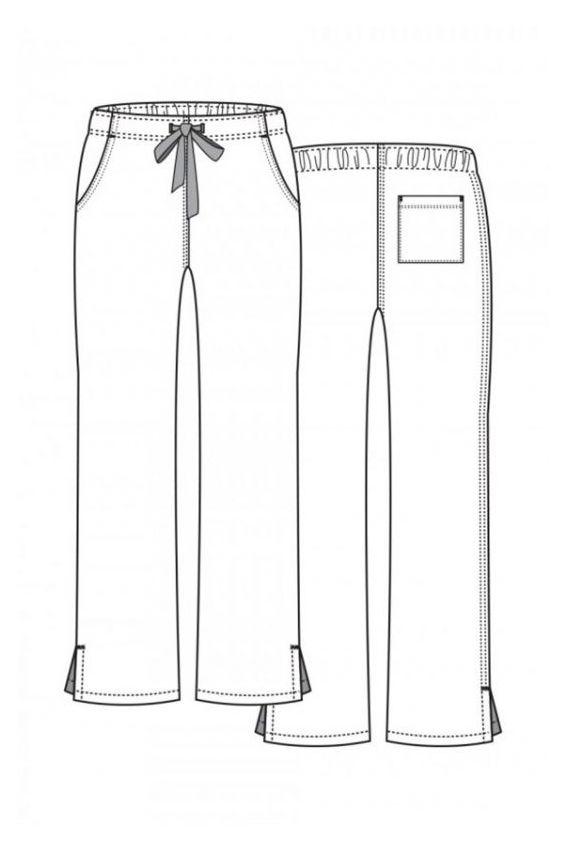 spodnie-medyczne-damskie Lékařské kalhoty Maevn Red Panda zelené