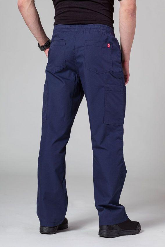 kalhoty-2 Pánské lékařské kalhoty Maevn Red Panda Cargo (6 kapes) námořnická modř