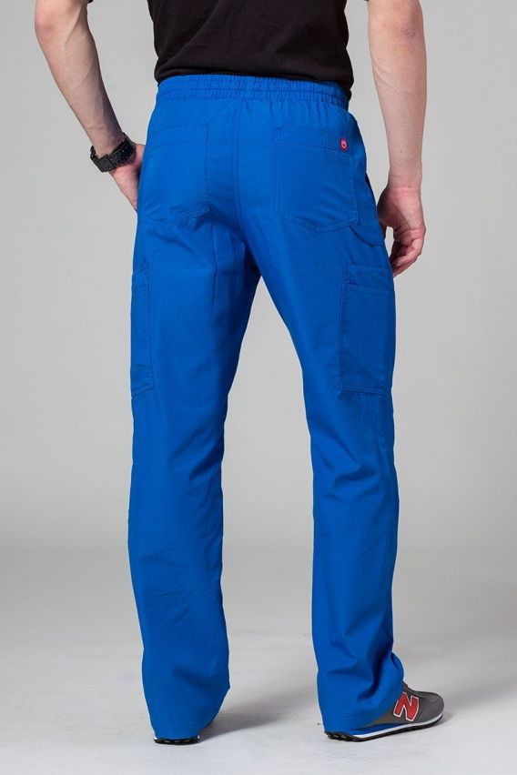spodnie-medyczne-meskie Pánské lékařské kalhoty Maevn Red Panda Cargo (6 kapes) královsky modré