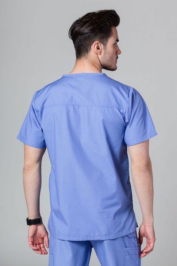 bluzy-medyczne-meskie Pánská lékařská halena Maevn Red klasicky modrá