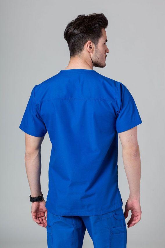 bluzy-medyczne-meskie Pánská lékařská mikina Maevn Red Panda královsky modrá