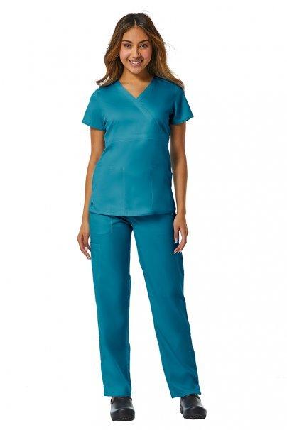 bluzy-medyczne-damskie Lékařská halena Maevn EON Style mořsky modrá