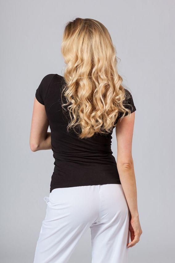 koszulki-medyczne-damskie Dámské tričko - černé