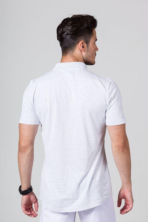 polo-tricka Pánské Polo tričko Malfini světle šedé