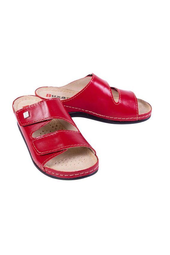 obuwie-medyczne-damskie Zdravotnická obuv Buxa model Anatomic BZ210 červená
