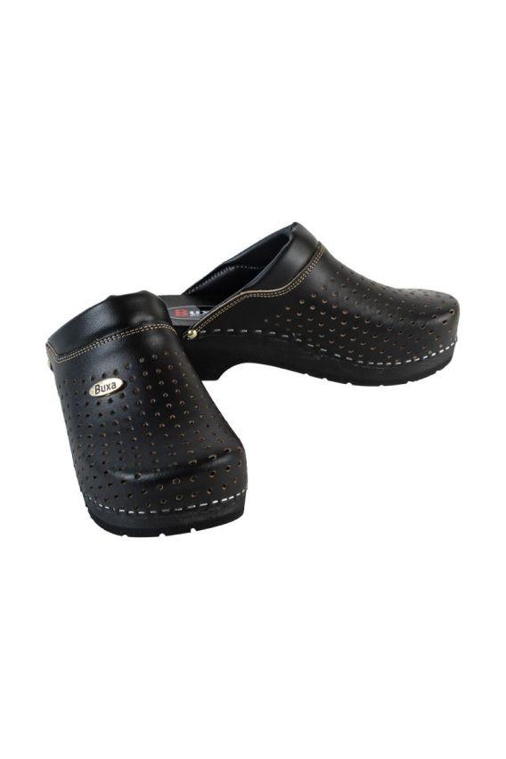 obuwie-medyczne-damskie Zdravotnická obuv Buxa Supercomfort FPU11 černá