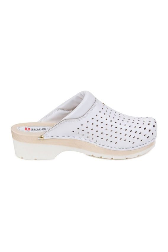 obuwie-medyczne-damskie Zdravotnická obuv Buxa Supercomfort FPU11 bílá