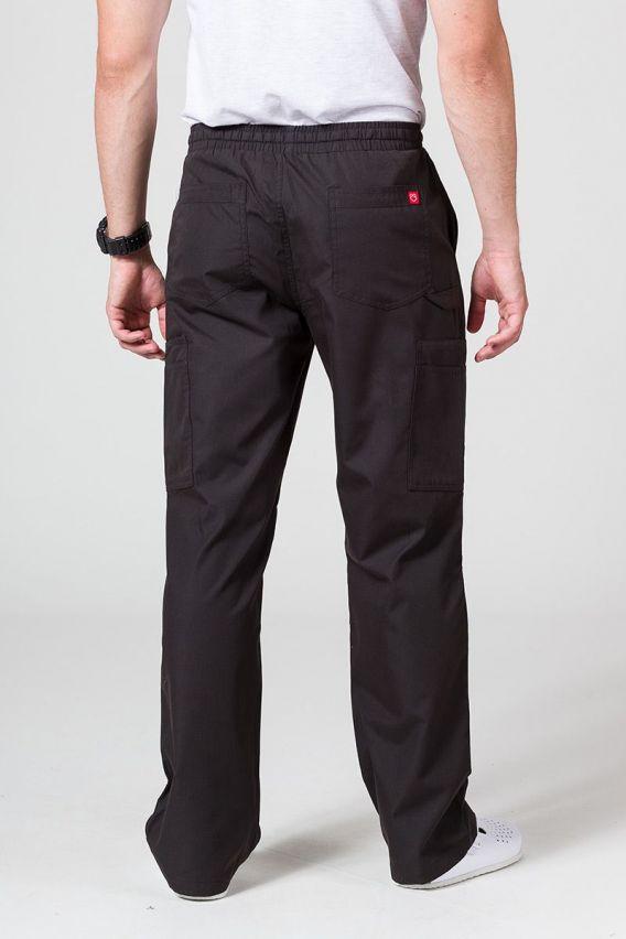 spodnie-medyczne-meskie Pánské lékařské kalhoty Maevn Red Panda Cargo (6 kapes) černé