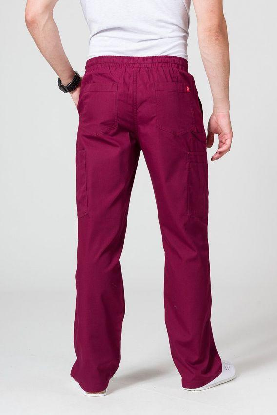 kalhoty-2 Pánské lékařské kalhoty Maevn Red Panda Cargo (6 kapes) třešňově