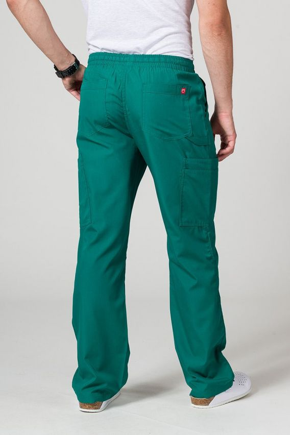 kalhoty-2 Pánské lékařské kalhoty Maevn Red Panda Cargo (6 kapes) zelené