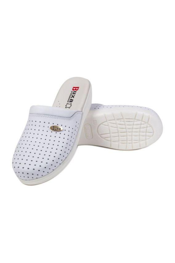 obuwie-medyczne-damskie Zdravotní obuv Buxa model professional Med11 bílá