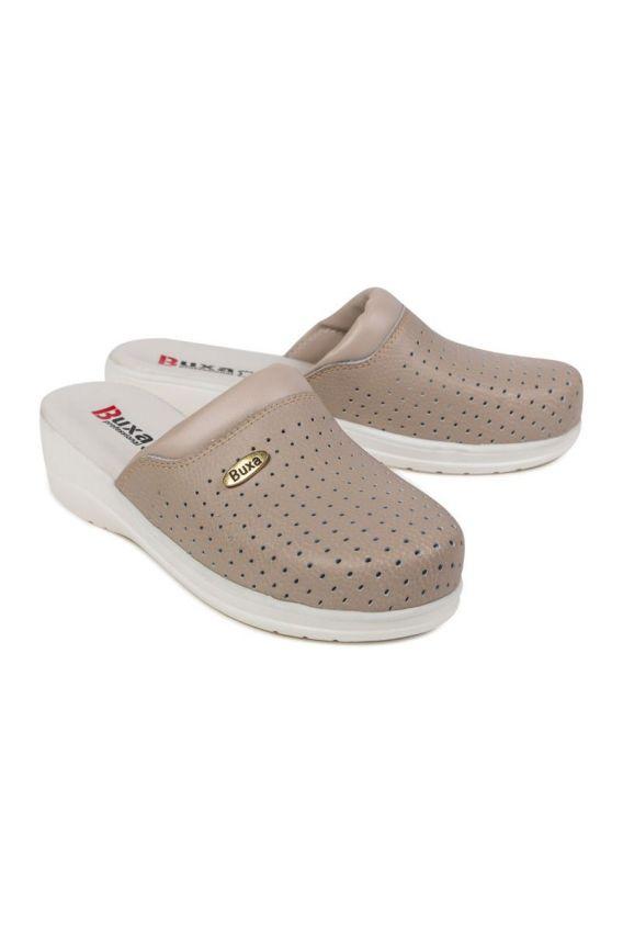 obuwie-medyczne-damskie Zdravotní obuv Buxa model professional Med11 béžové