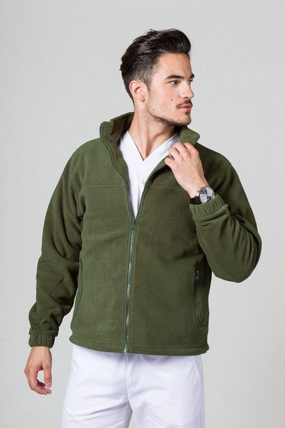 mikiny-1 Pánská mikina zelená
