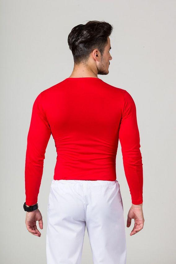 tricka-1-1 Pánské tričko s dlouhým Malfini rukávem červené