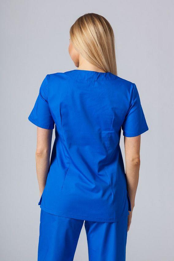 bluzy-medyczne-damskie Lékařská halena Sunrise Uniforms královský granát