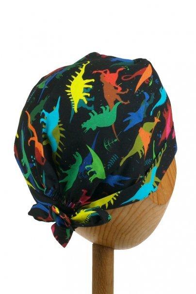 cepice-2 Zdravotnická zavinovací čepice Sunrise Uniforms Style Unisex dinosauři