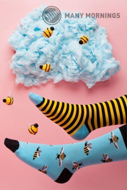 ponozky Barevné ponožky Bee Bee - Many Mornings
