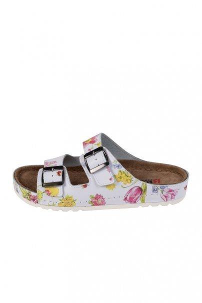 obuwie-medyczne-damskie Zdravotní obuv Buxa model Memory BZ110 květiny