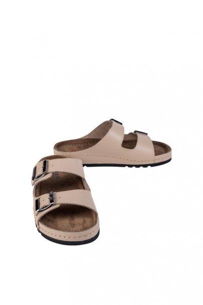 obuwie-medyczne-damskie Zdravotní obuv Buxa model Memory BZ110 béžová