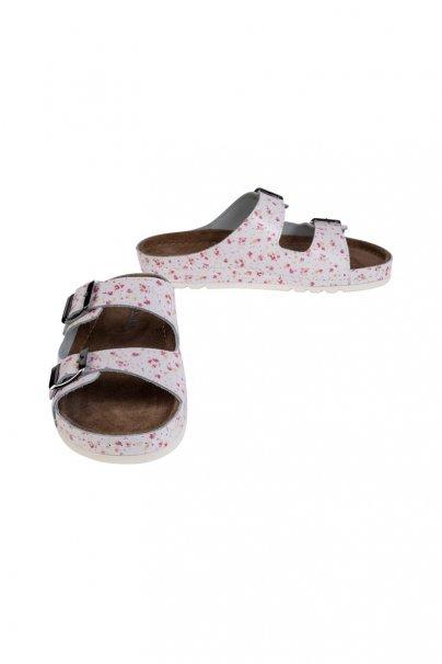 obuwie-medyczne-damskie Zdravotní obuv Buxa model Memory BZ110 mini květiny